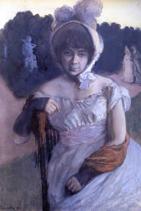 Portrait Of Anna Karlovna Benois