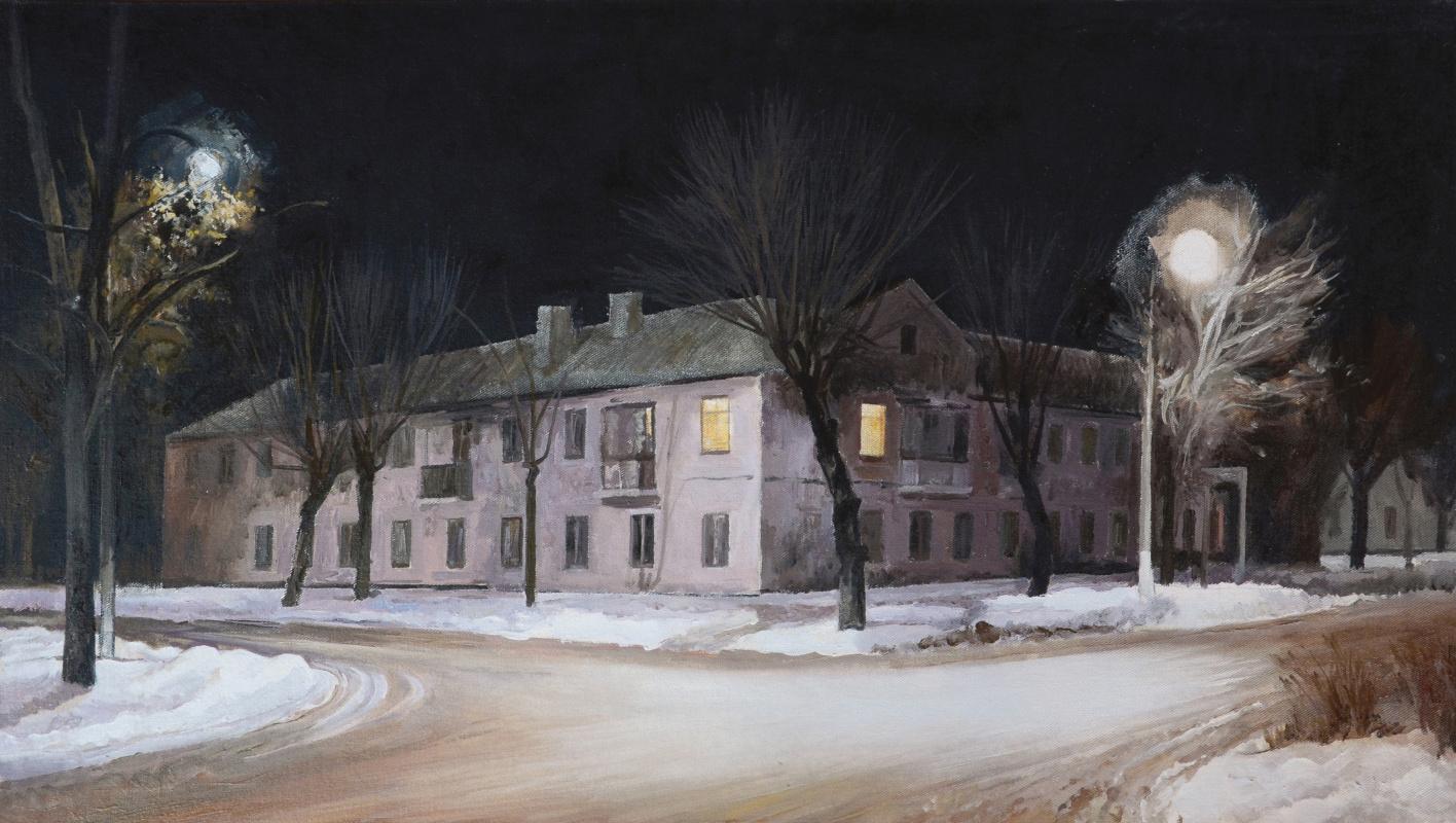 Igor Vladimirovich Mashin. Night city