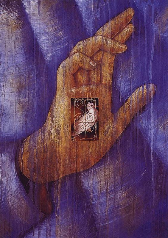 Фон Бюлер. Цинтия. Птица в руке