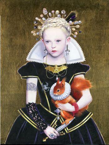 Titti Garell. Little Queen of squirrels