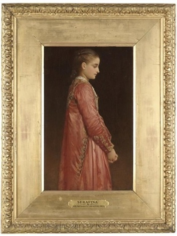 Frederic Leighton. Serafina