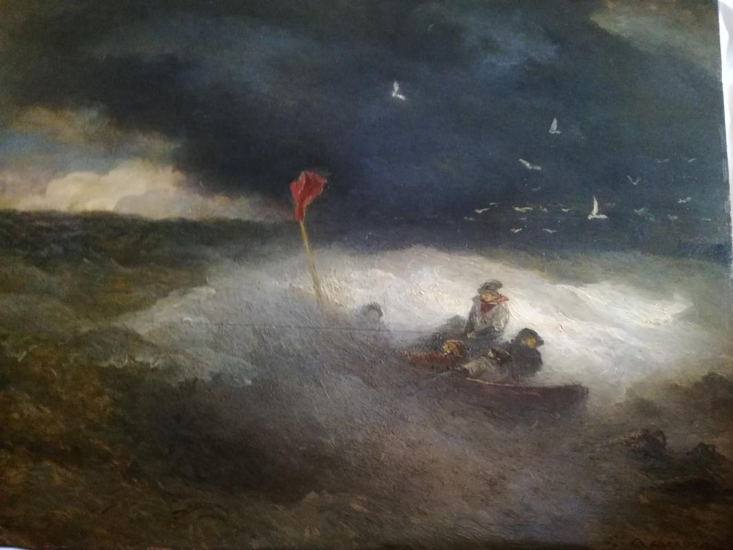 Andreas Achenbach. Storm