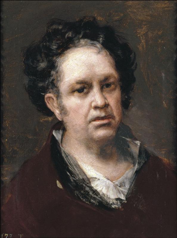 Francisco Goya. Self-portrait