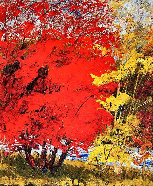 Фернан Лабелль. Красота деревьев