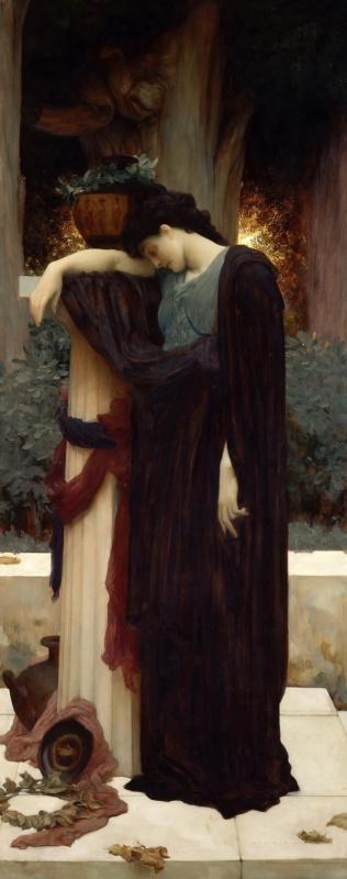 Frederic Leighton. Tears