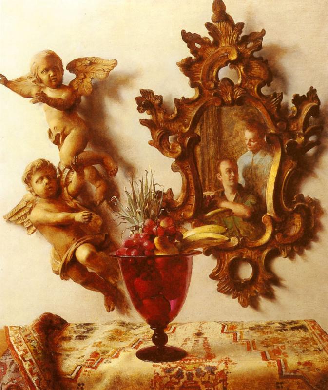 Джон Кох. Натюрморт с ангелами