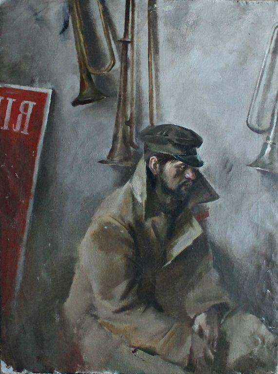 Vladislav Alexandrovich Loginov. To the front