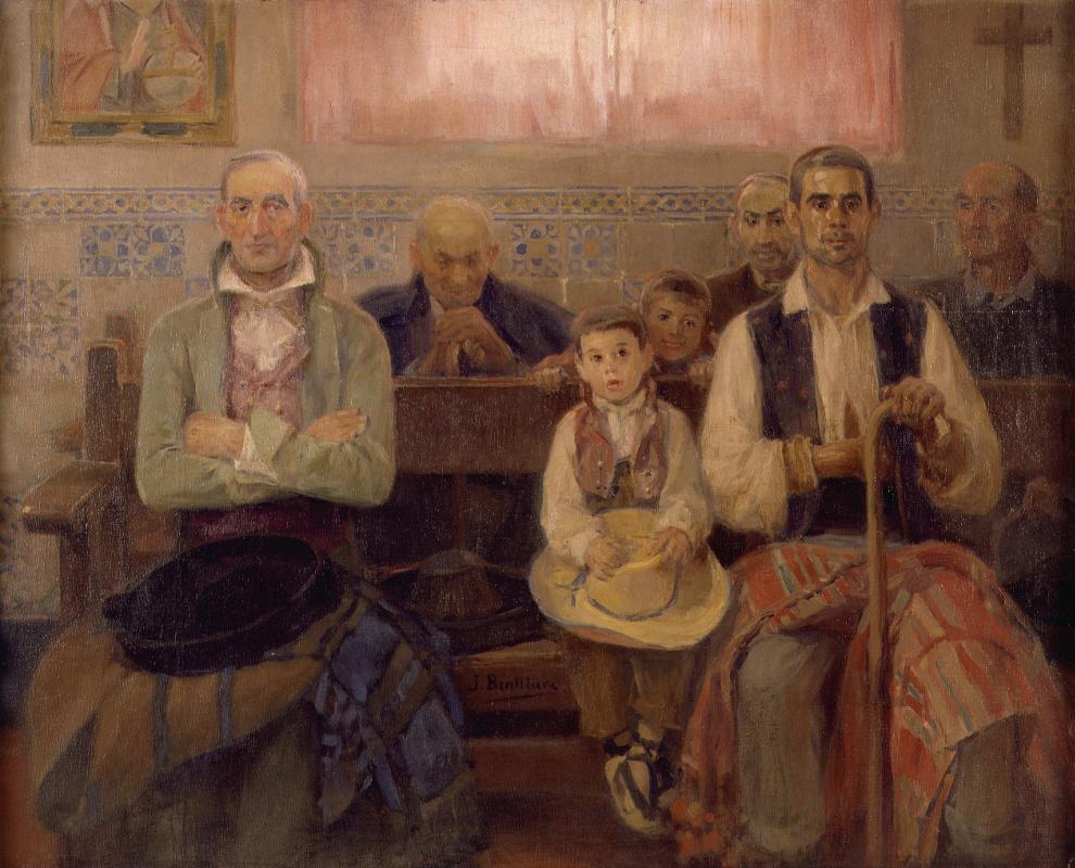 Хосе Бенльуре-и-Хиль. Месса в часовне