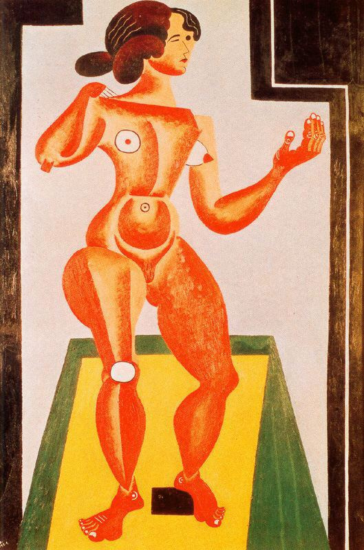 Joan Miro. Naked woman
