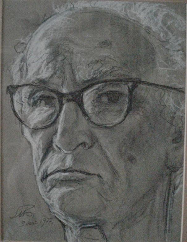 Петр Михайлович Блеткин. Автопортрет