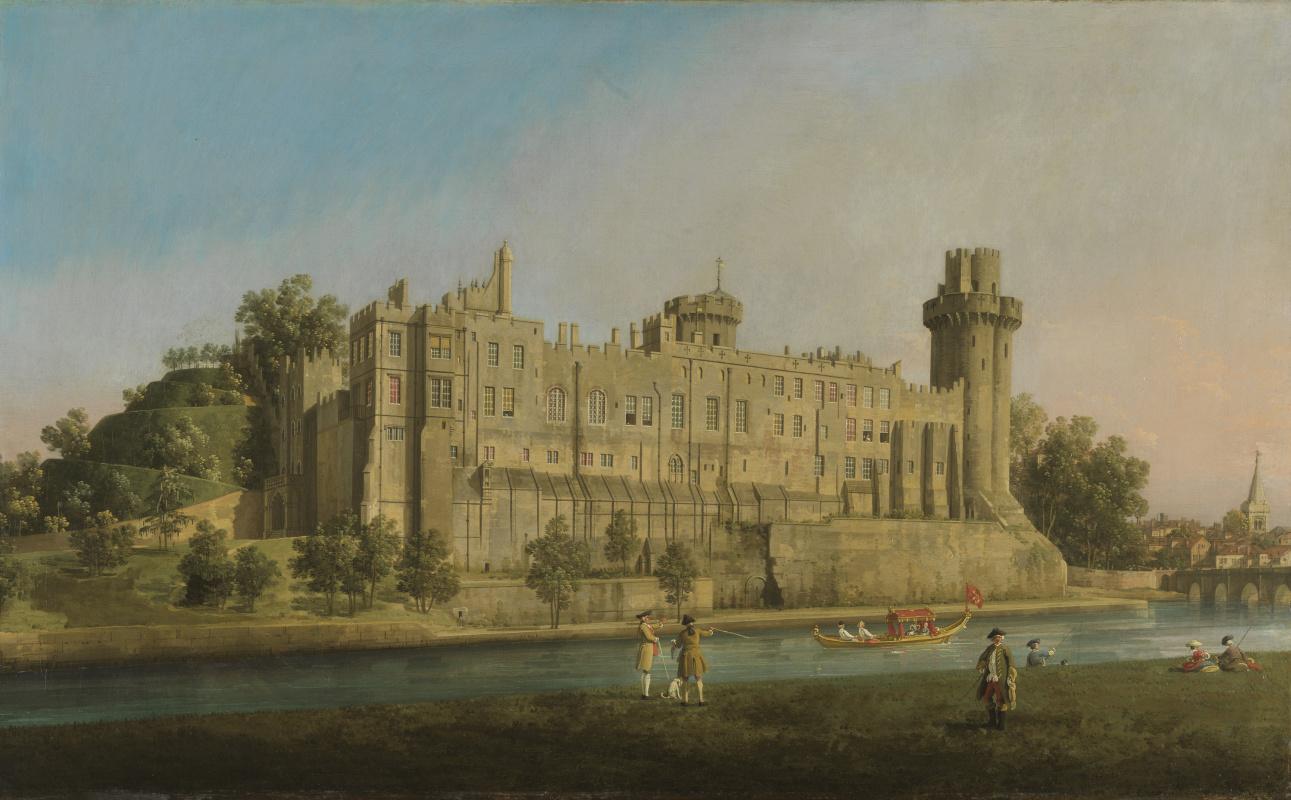 Giovanni Antonio Canal (Canaletto). Warwick Castle