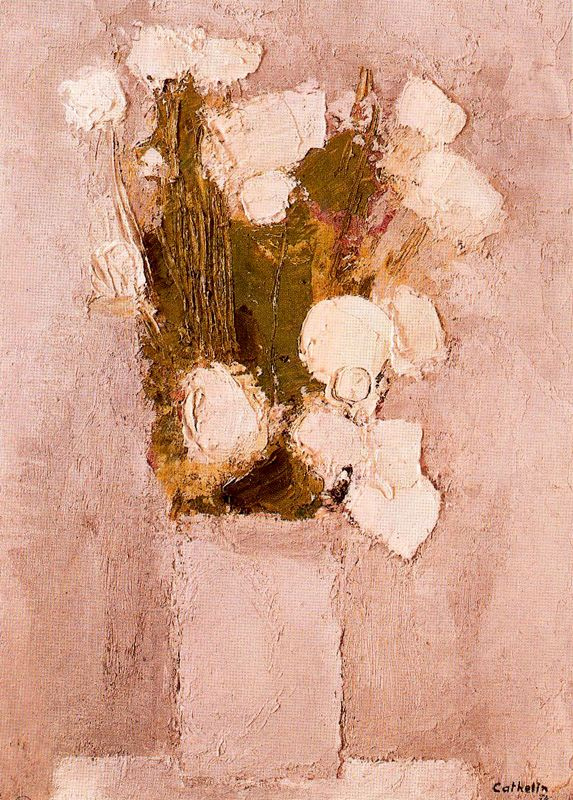 Катерин Бернард. Белые цветы