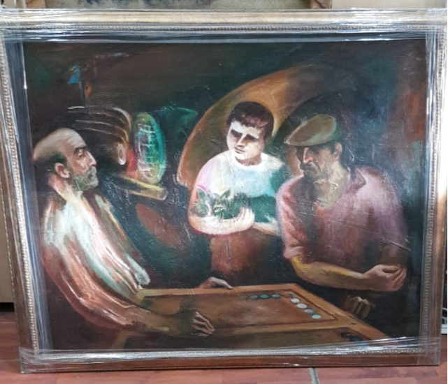 Imran Mammadovich Kuliev. Painting