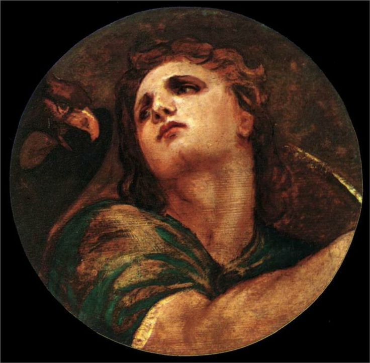 Titian Vecelli. St. John the Evangelist