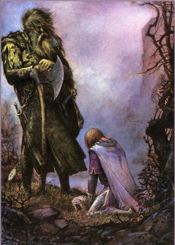 Юлек Хеллер. Зеленый рыцарь