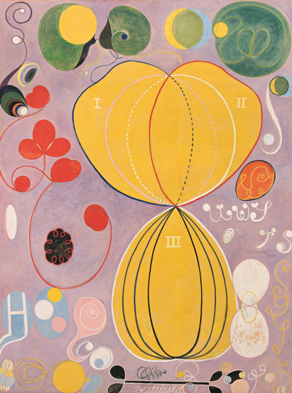 Hilma af Klint. The Ten Largest, No. 7, Adulthood