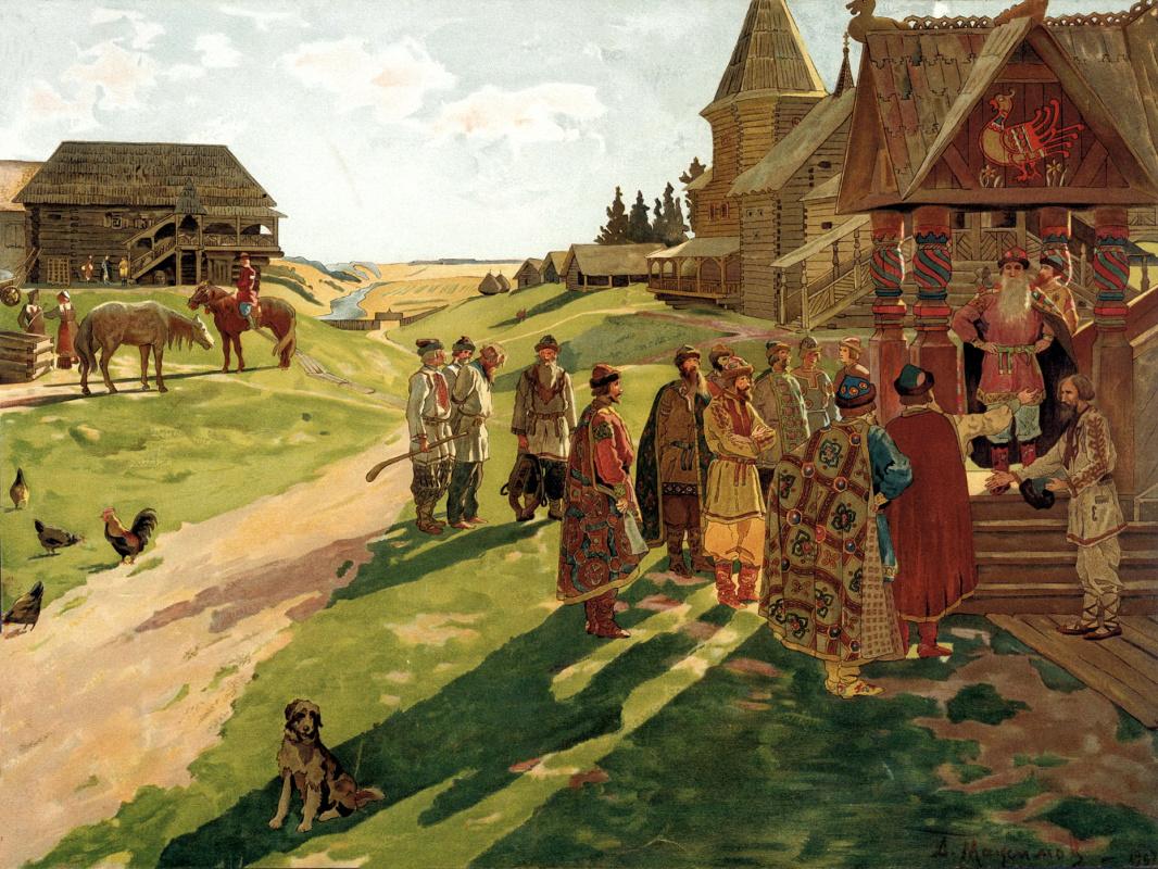 Алексей Максимович Максимов. В усадьбе князя
