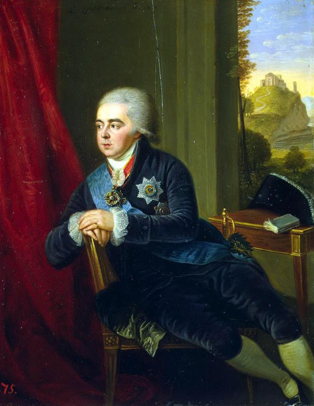 Ludwig Guttenbrunn. Portrait Of Kurakin