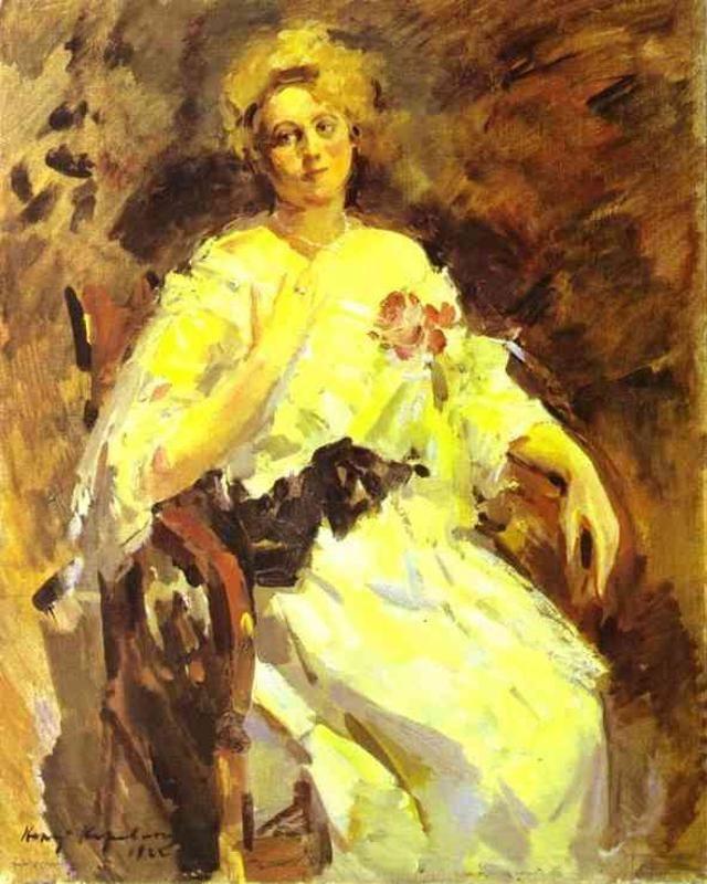 Константин Алексеевич Коровин. Портрет женщины