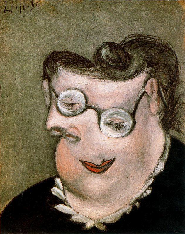Пабло Пикассо. Портрет Эмили Маргарет Вальтер