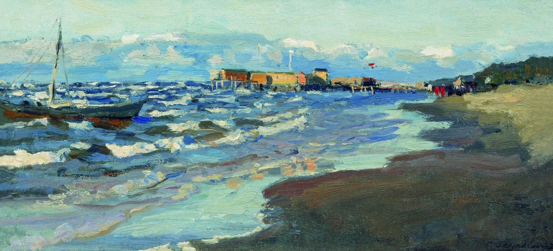 Станислав Юлианович Жуковский. Берег моря