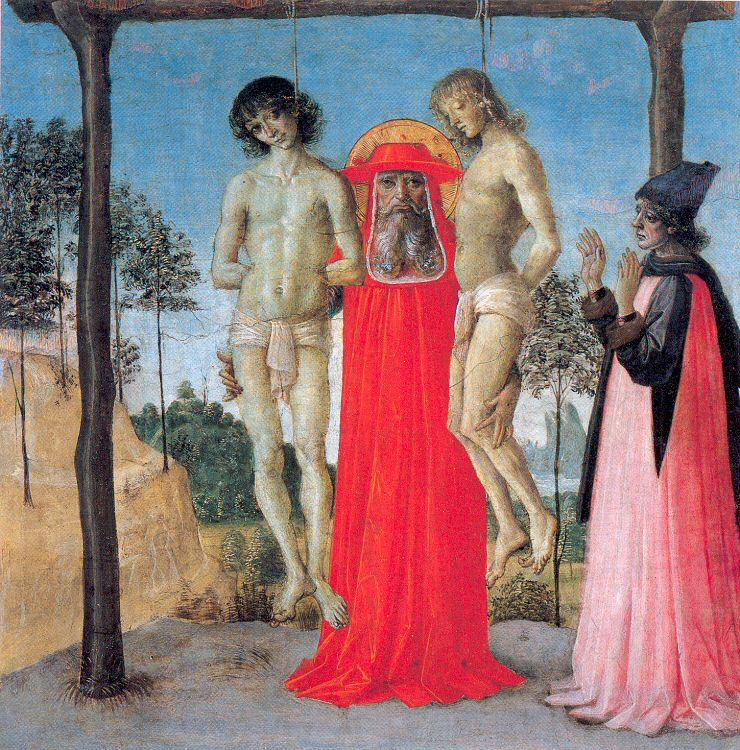 Pietro Perugino. Martyrs