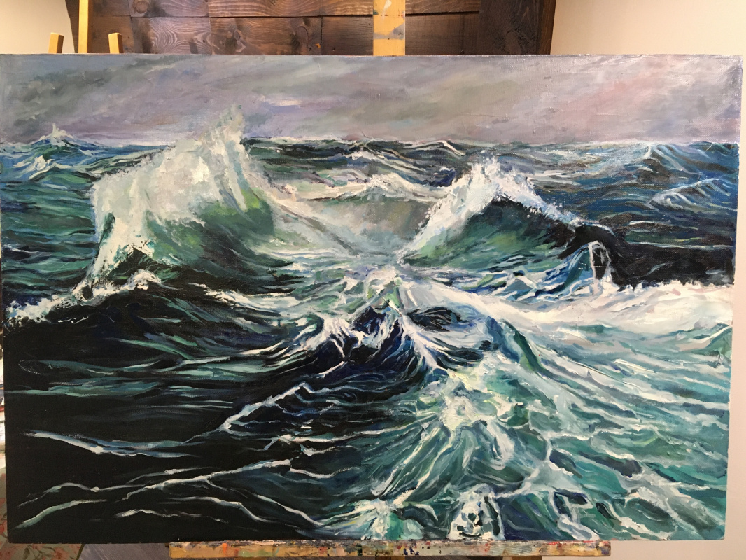 Daria Dmitrieva. Ocean