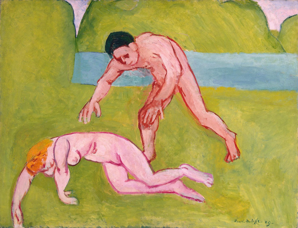 Henri Matisse. Nymph and Satyr