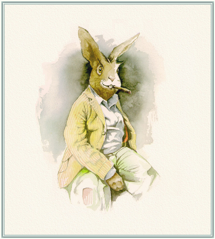Барри Мосер Брер. Кролик в пиджаке