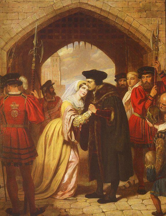 Michael David Ward. Sir Thomas more says goodbye to his daughter