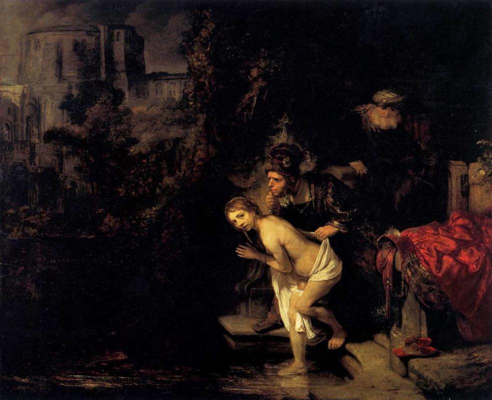 Rembrandt Harmenszoon van Rijn. Susanna and the elders