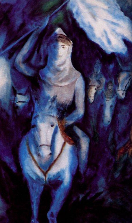 Гортензия Хеберт-Гагнон. Верхом на коне