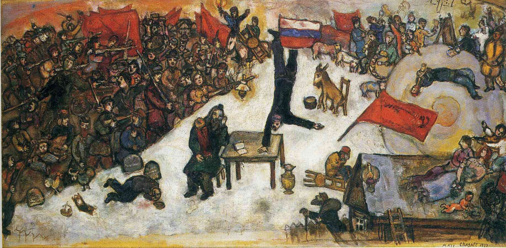 Marc Chagall. Revolution
