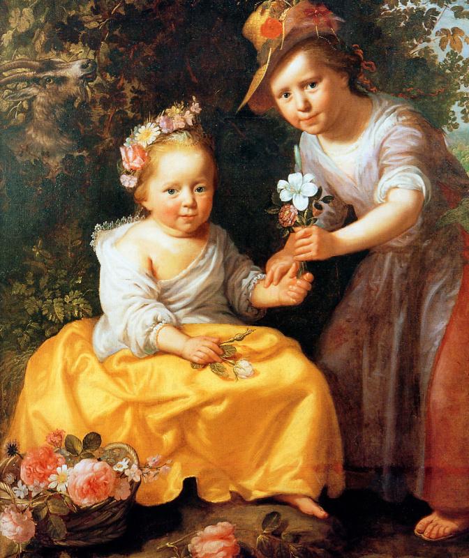 Паулюс Морелсе. Портрет двух детей