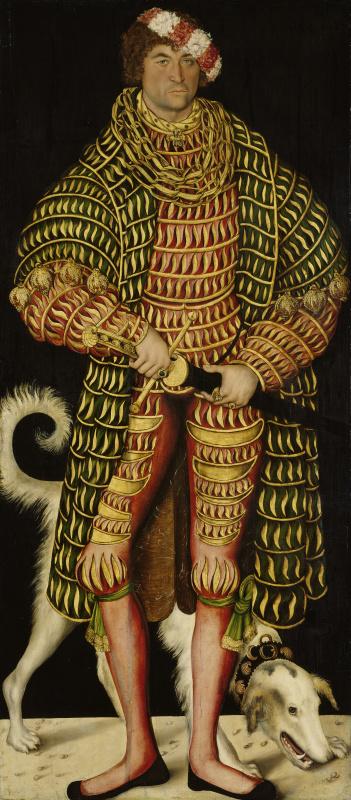 Портрет Генриха V Благочестивого, герцога Саксонского