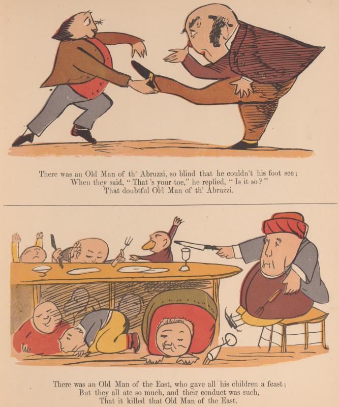 Эдвард Лир. Книга чепухи. Иллюстрации