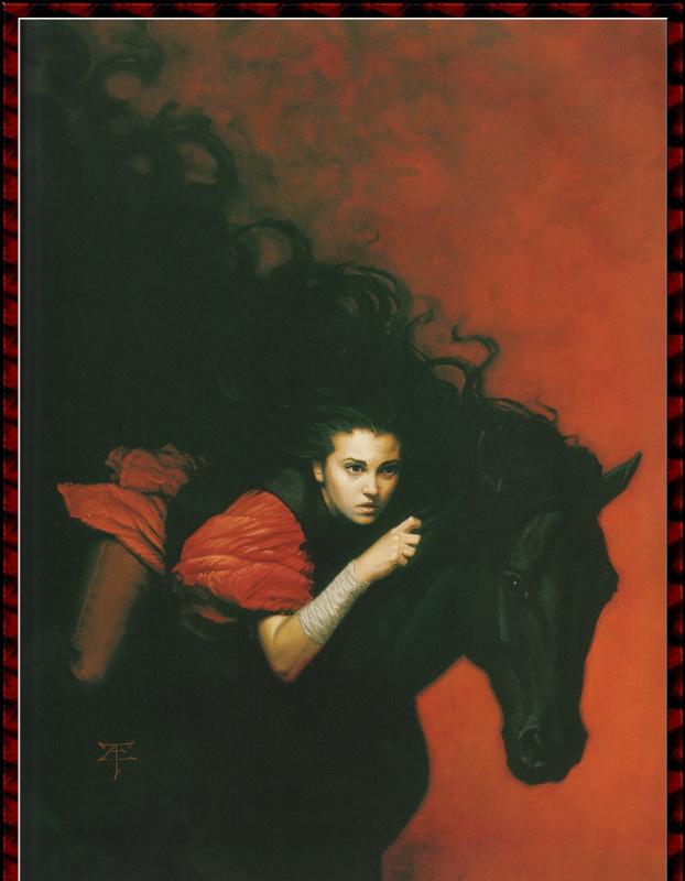 Тристан Элвелл. Черный конь
