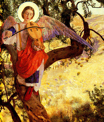 Frank Cadogan Cowper. Francis of Assisi and the heavenly melody