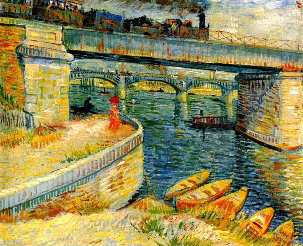 Винсент Ван Гог. Мост через Сену в Аньер