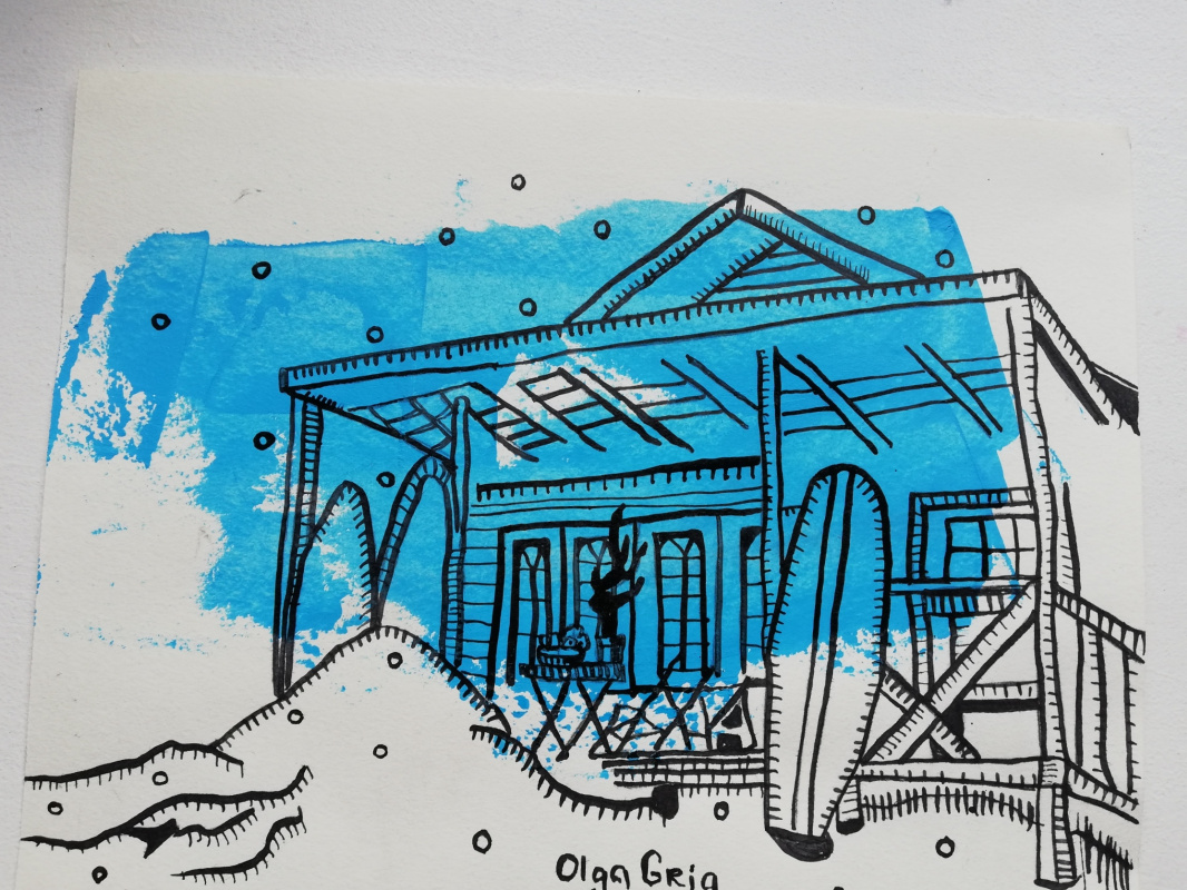 Olga Grig. House by the sea