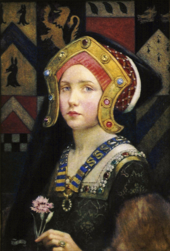 Eleonora Fortesquieu-Brickcadal. Girl with flower