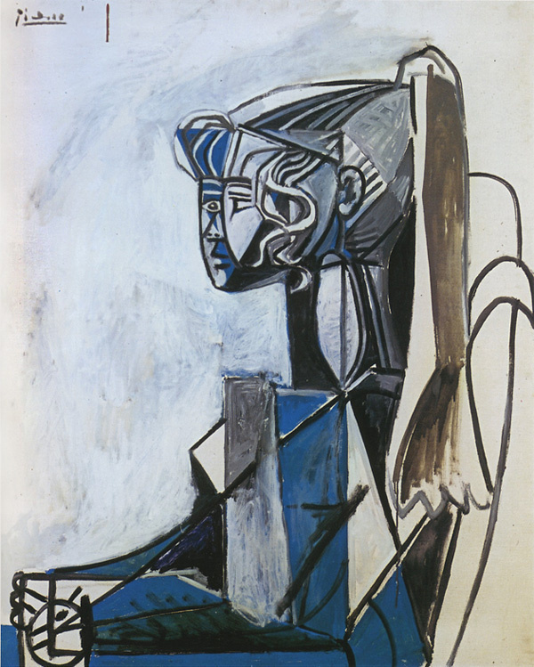 Пабло Пикассо. Сильветт
