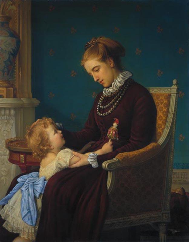 Пол Пил. Мать и дочь