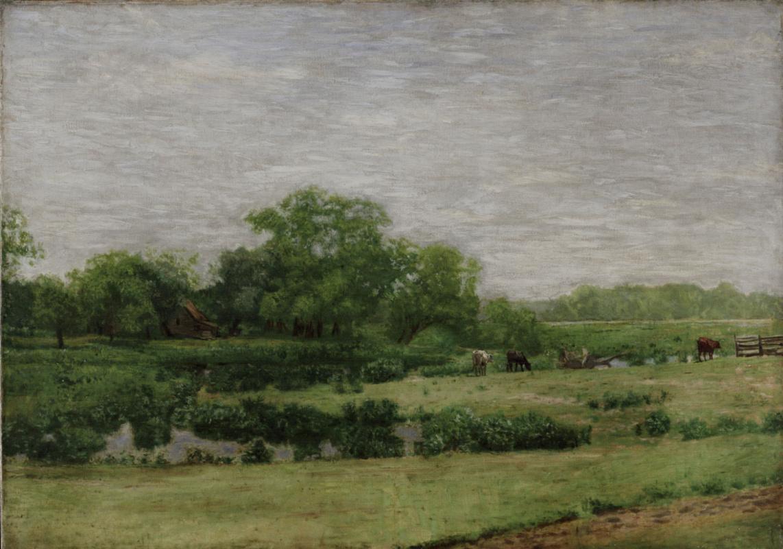 Thomas Eakins. Meadow. Gloucester