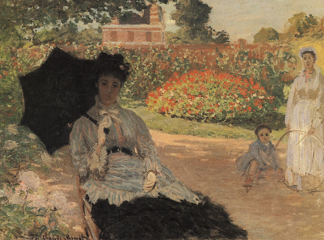 Camille Monet in the garden by Claude Monet: History, Analysis & Facts