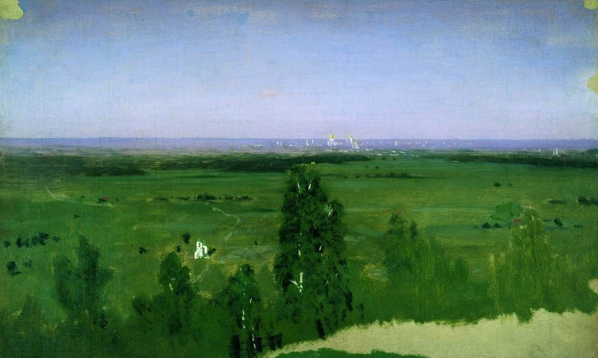Arkhip Kuindzhi. View on Moscow from Sparrow hills