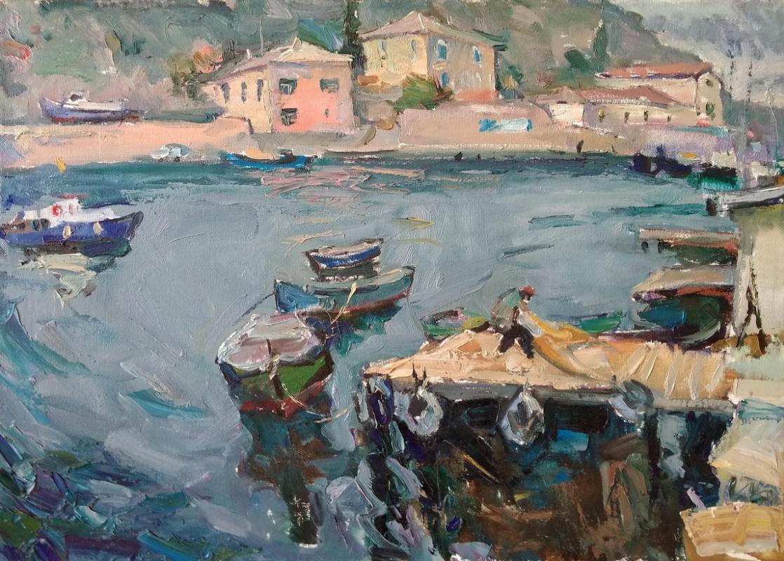 Unknown artist. Fisherman. Balaclava