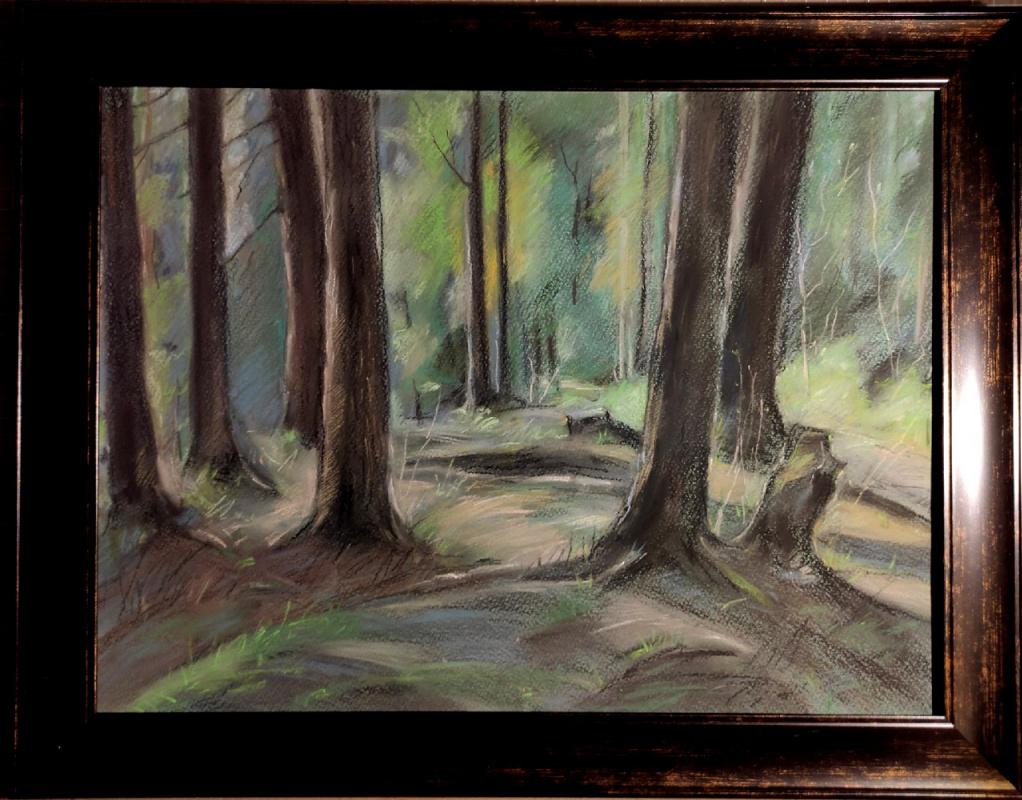Ксения Михайловна Стеценко. Mysterious forest