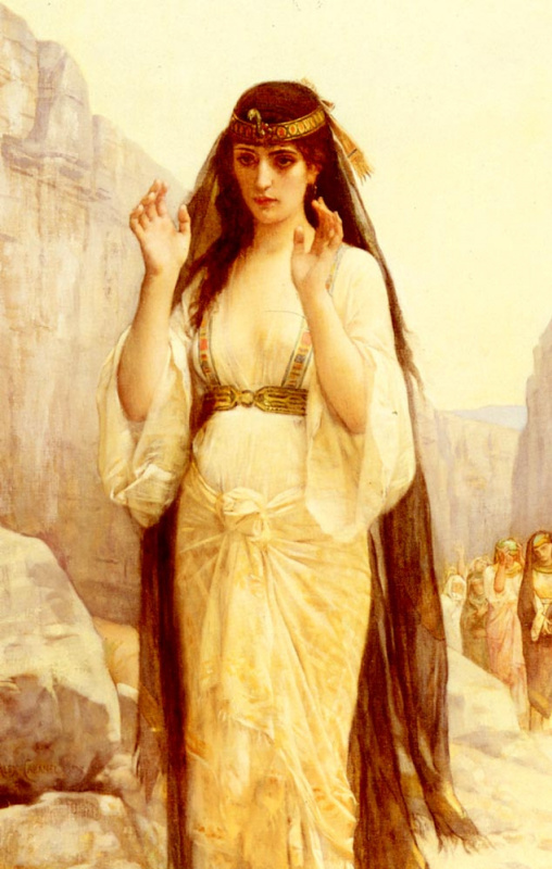 Александр Кабанель. Дочь Иеффая