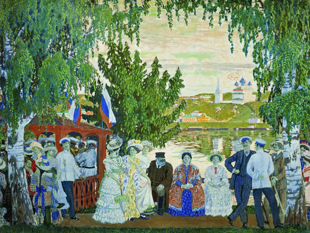 Boris Kustodiev. Festivities